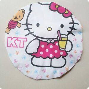 Hello Kitty Drinking Juice Bath Shower Cap for Girls, Ladies, Kids, Children 1pc