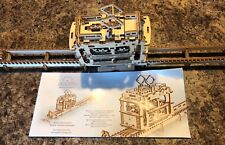 UGears Tram on Rails - Wooden Mechanical Model Used