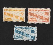 OPC 1959 Haiti Air Post Postal Tax Set Sc#RAC3-5 MNH
