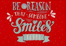 Be The Reason That Someone Smiles Today Blank Note Card With Envelope