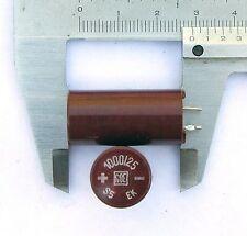 2 pcs. 1000uF 25V ROE Roederstein EK 1000µF HI End capacitors