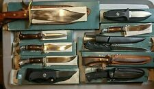 Vintage Western Cutlery American Made Knives - Bowie, Hunting, Boot, Fillet