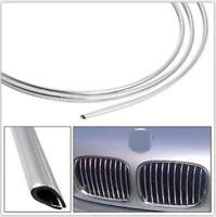 6m Chrome Car Air Vent Grille Switch Door Guard Rim Trim Strip Moulding Edge UK
