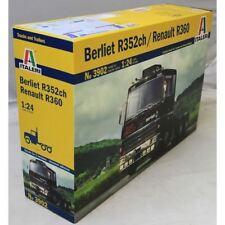 Italeri 1 24 3902 BERLIET R352ch RENAULT R360 Model Truck Kit