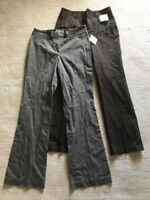 Lot Of 2 Liz Claiborne New York Jackie Women's Pants Slacks Sz 6 NEW $119 #D4