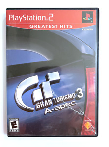 Gran Turismo 3 A-Spec Sony PlayStation 2 2002 PS2 Game Tested WORKING