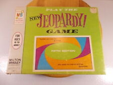 Vintage Play The NEW Jeopardy Board Game-5th Edition #4457 1964 Complete