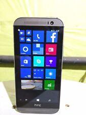 HTC One M8 32GB 6995L Gunmetal Windows Verizon Smartphone Works with any carrier