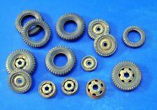 VERLINDEN PRODUCTIONS #2484 Tires, Wheels & Rims in 1:35