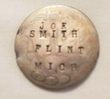 odd fellow antique badge victorian on usa seated liberty silver quarter coin