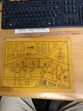 1938 Year Book P.S. 186 Red and Gold , Brooklyn, NY