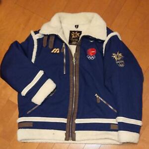 1998 Nagano Olympics Japan National Team MIZUNO Official Boa Jacket L Replica