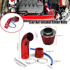 Aluminum Car Auto Cold Air Intake Filter Induction Pipe Power Flow Hose System