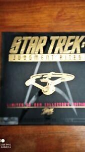 Star Trek Judgement Rites Limited CD ROM Collector's Edition 74866 Of 75000
