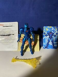 "Marvel Universe Hasbro Legends Avengers Blue Stealth IRON MAN  3.75"" Figure 2"