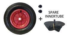 WHEELBARROW WHEEL 3.50-8 WITH SPARE INNER TUBE