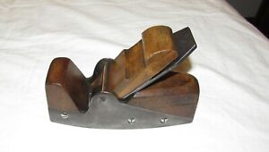 Rare antique infill smoothing plane by D Kimberley old woodworking tool plane