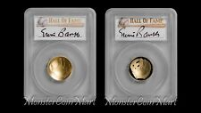 PCGS-70 Pair 2014-W $5 Baseball Gold Ernie Banks Retired Jersey #14 - (1 OF 14)