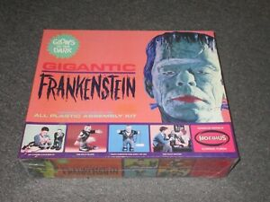 GIGANTIC FRANKENSTEIN MOEBIUS MODEL KIT FACTORY SEALED # 1470 GLOWS IN DARK
