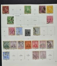 TRINIDAD & TOBAGO, a collection on 4 album pages, mainly used condition.