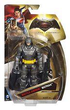 """Battle Armor Batman Mattel DC Comics 6"""" Batman v. Superman: Dawn of Justice NIB"""