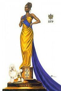 Elegance (26 x 36 in) - Sigma Gamma Rho Art Print - Kevin A. Williams - WAK