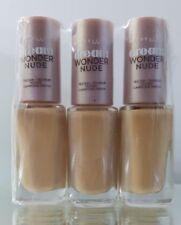 Maybelline Dream Wonder Nude Foundation 21 Nude -  5ml x 3 Bottles *SALE*