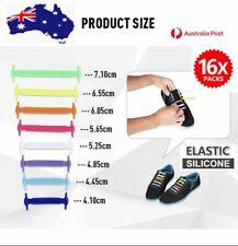 Easy Lazy No Tie Elastic Silicone Shoe Laces Triathlon Shoelaces Adult Unisex