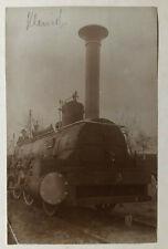 Lok 179 - original Fotografie als AK an Dr. Ing. Richard von Helmholtz - Rarität