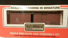 Train Miniature HO Vintage NIB Kit Southern Pacific  Wood Boxcar