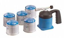 CFH Solder s 1000 Set -loetlampe + 10 Gas Cartridges Set, immediate use