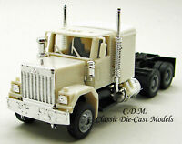 GMC Tandem Axle Tractor w/Sleeper White HO 1/87 Scale Herpa/Promotex 25234