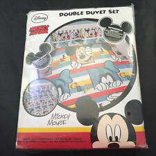 New MICKEY MOUSE DOUBLE DUVET SET