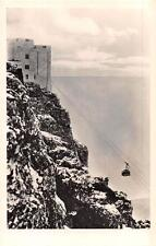 RPPC TABLE MOUNTAIN LIFT CAPE TOWN SOUTH AFRICA REAL PHOTO POSTCARD