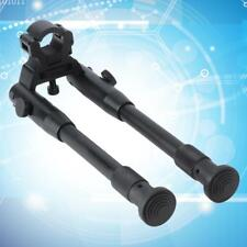 "8""~10"" Barrel Clamp-on Adjustable Hunting Rifle Bipod 4 Picatinny &Weaver Railr6"