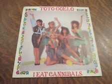 45 tours TOTO COELO i eat cannibals