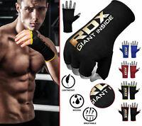 RDX Boxbandagen Gepolsterte Hand Wickeln Innere MMA Boxen Handschuhe DE