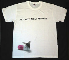 "Red Hot Chili Peppers FLY ""je suis avec vous"" T-Shirt Tour Concert L"