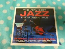 THE VERY BEST JAZZ INSTRUMENTALS - 45 ORIGINAL CLASSICS - 3 CD BOX SET