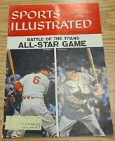 1957 Sports Illustrated All-Star Game Preview July 8 1957 Musial Williams