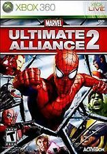 Marvel Ultimate Alliance 2 (Microsoft Xbox 360, 2009) (No Booklet) Free Shipping