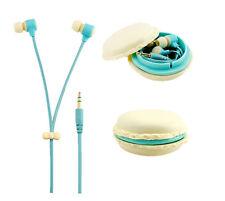 In-Ear Candy Color Macarons Design Headphones Cute Earphones Earbuds Headset