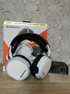 SteelSeries ARCTIS PRO WIRELESS / SANS FIL (blanc)