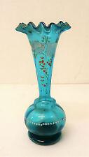 Ancien Vase soliflore à décor émaillé ép Art nouveau