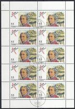 Austria, 2006 Mozart 2603 Klein arco con sello, (19840)