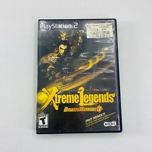 Sony Playstation 2 PS2 Xtreme Legends Dynasty Warriors 3 Case & Manual ONLY