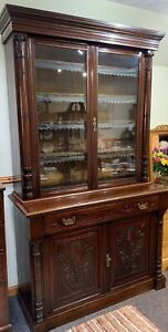 Superb Quality Victorian Mahogany Library Bookcase