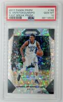 2017 Panini Prizm Fast Break Giannis Antetokounmpo #182, Graded PSA 10, Pop 13