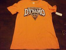 Houston Dynamo NEW youth large 14/16 MLS t shirt soccer orange