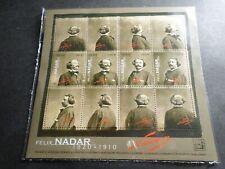 FRANCE 2020, BLOC timbres FELIX NADAR, PHOTOGRAPHE, CELEBRITE', neuf**, MNH